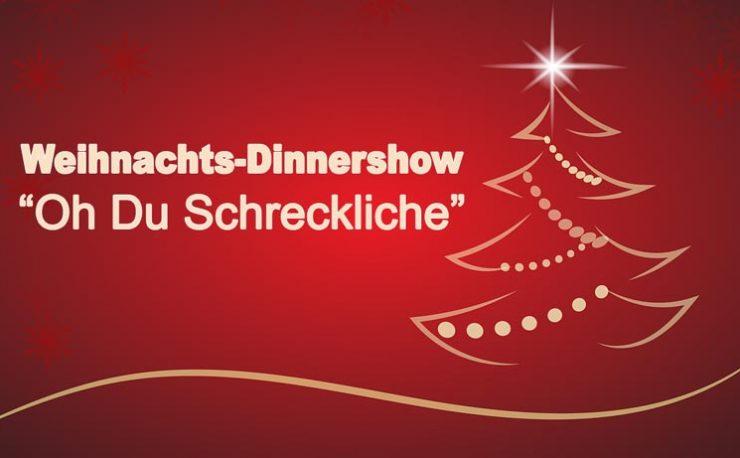 Weihnachts-Dinnershow Leipzig