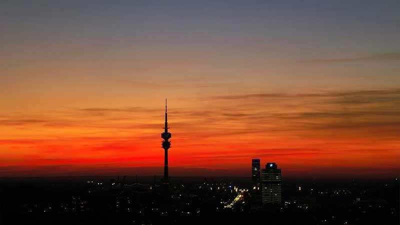 romantisches Candle Light Dinner in München